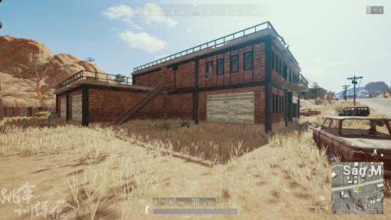 《绝地求生》沙漠地图攻楼打法 沙漠各种房子攻略